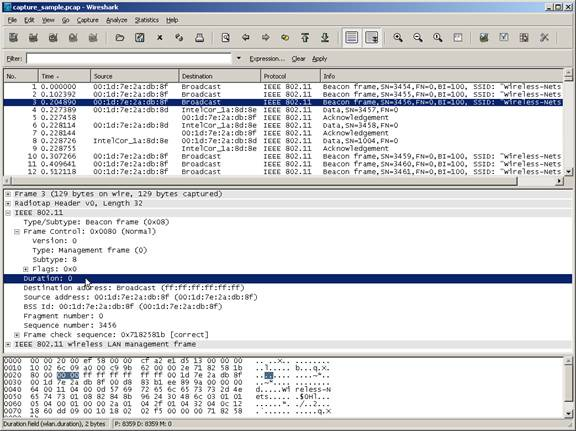 Wireshark Capture Sample